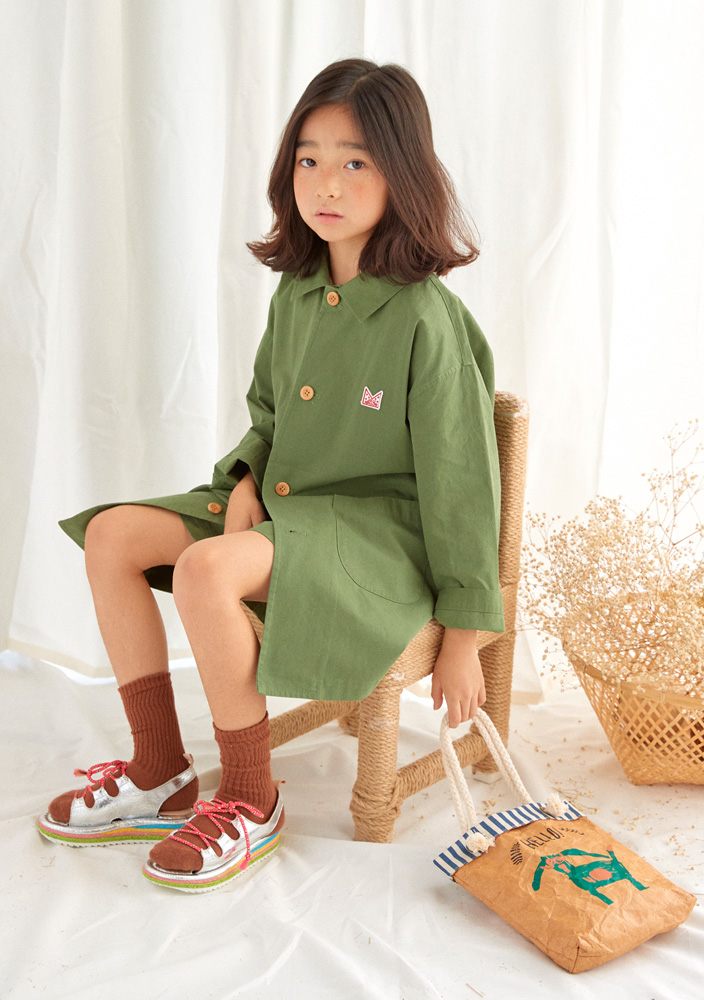 ★Single Spring Coat_Khaki