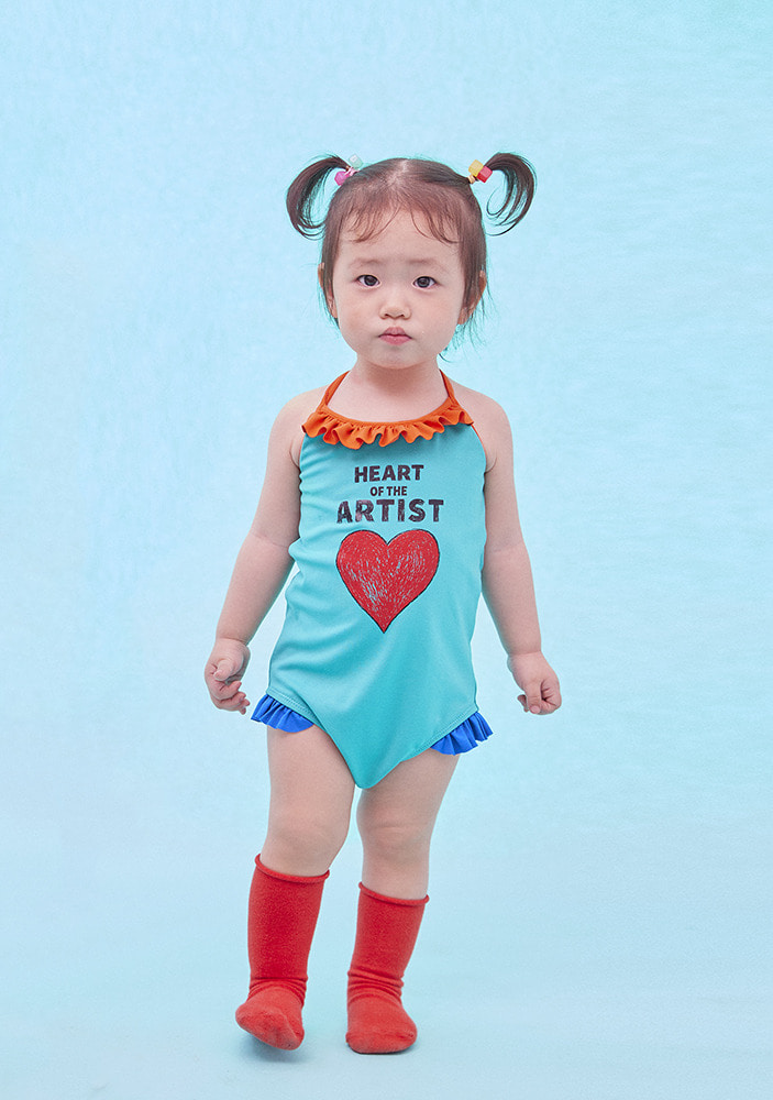 ARTIST HEART SWIMSUIT_Baby