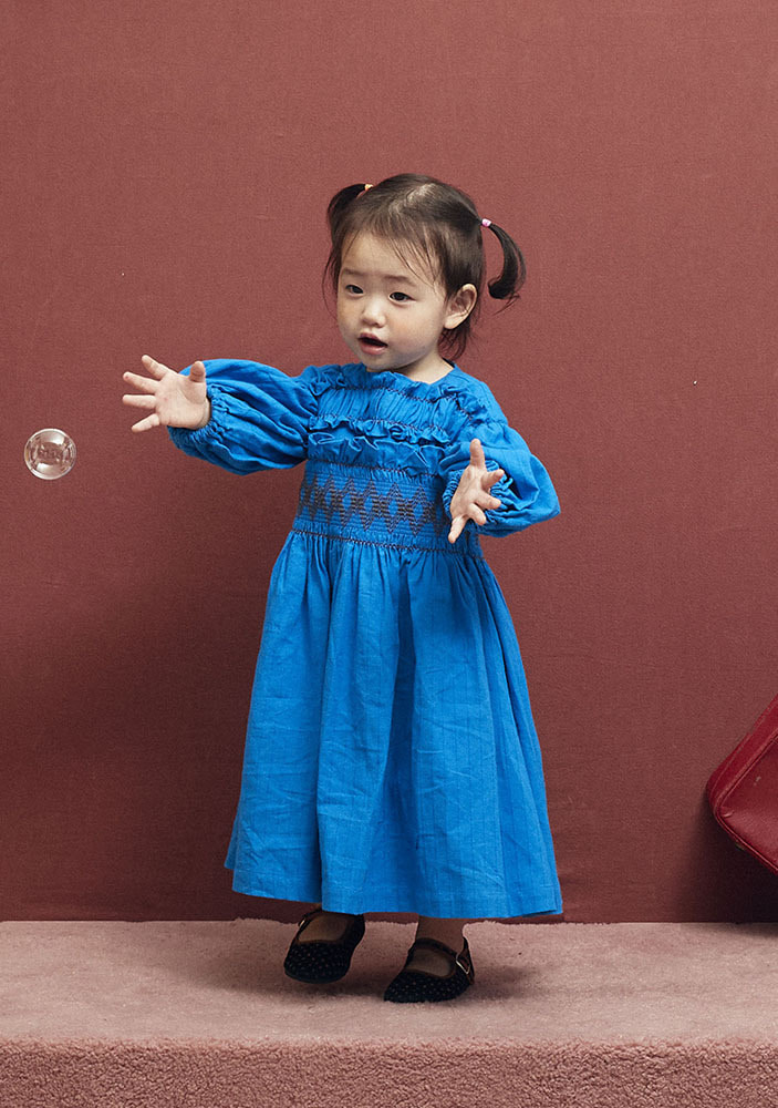 LITTLE PRINCESS DRESS_Blue_Baby