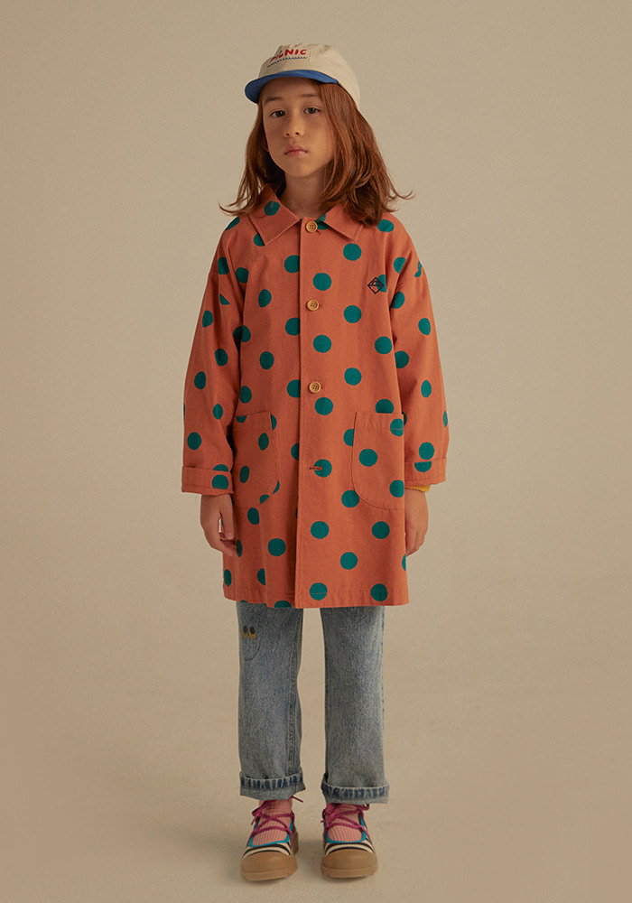 DOTTED SPRING COAT