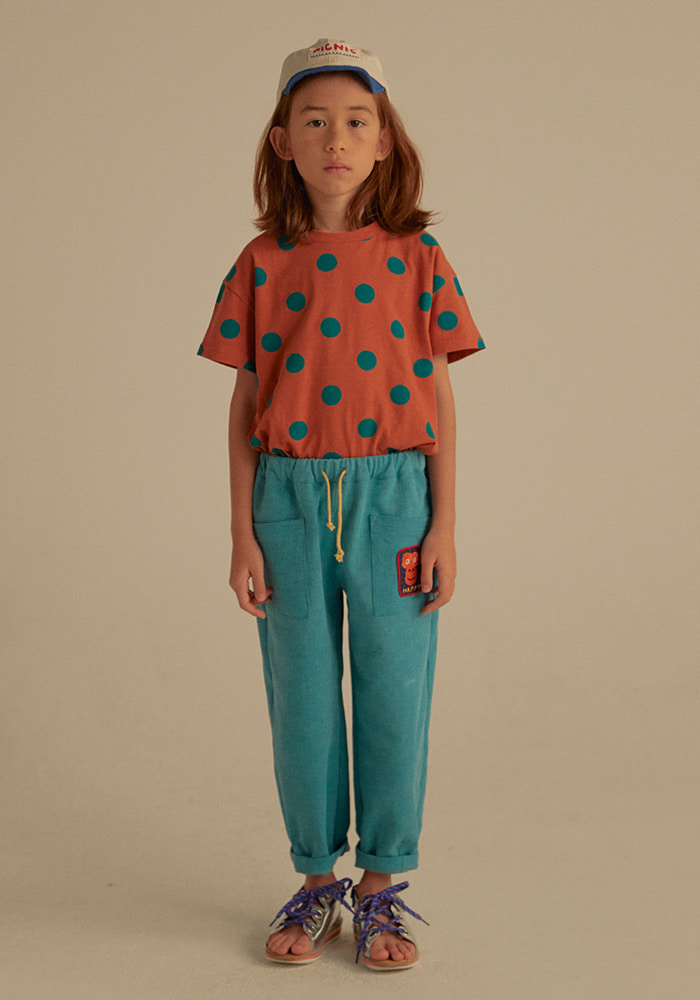 DOTTED SHORT SLEEVE T-SHIRT_Kids