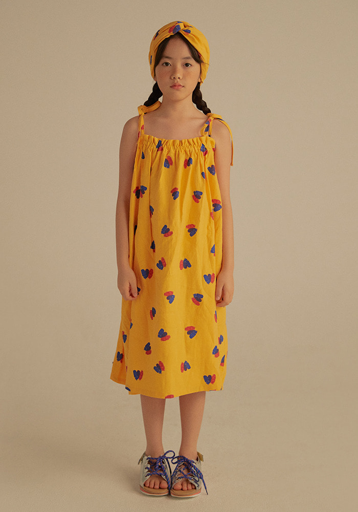 DOUBLE HEARTS DRESS_Kids