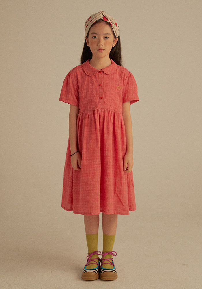 CHECKED SUMMER DRESS_Kids#2