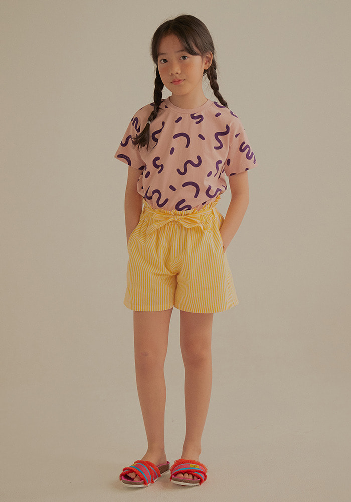 ZIGZAG SHORT SLEEVE T-SHIRT_Kids