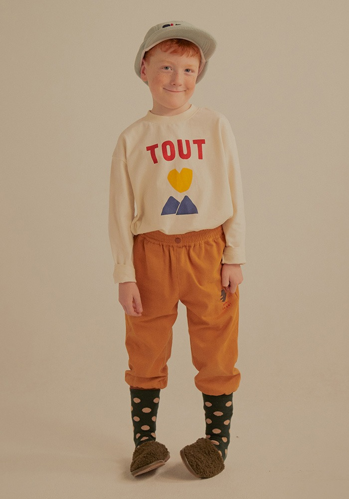 TOUT LONG SLEEVE T-SHIRT_Ivory_Kids#2