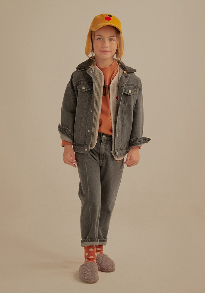 PETIT JELLY DENIM PANTS_Grey_Kids