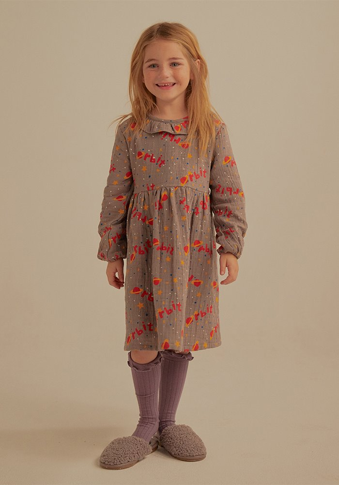 ORBIT FRILL DRESS_Kids
