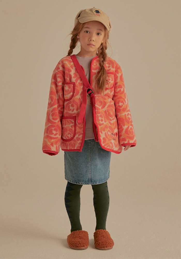 ROSE CAMO SHEARLING JACKET_Kids#2