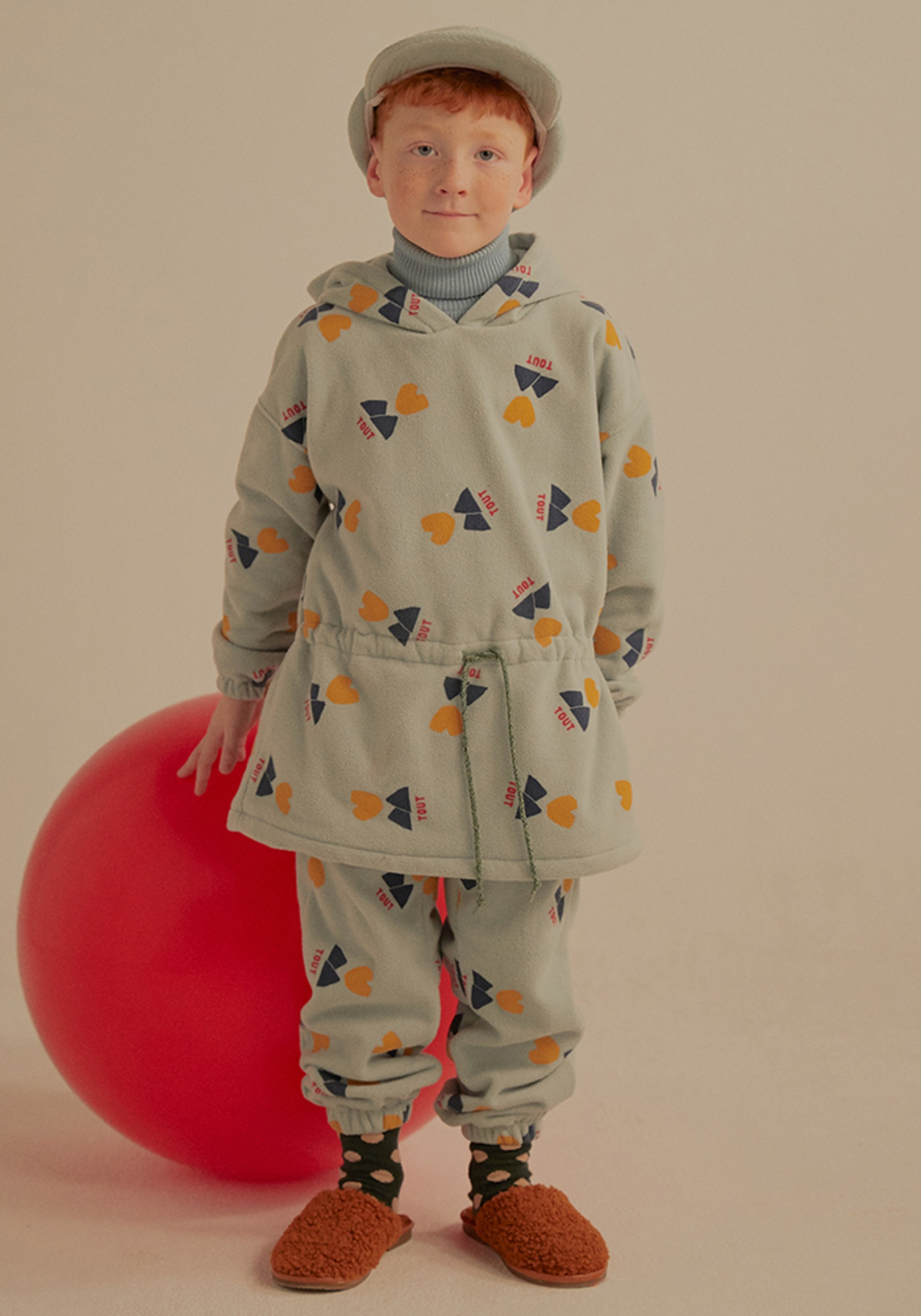 TOUT FLEECE LOUNGE PANTS_Kids#2