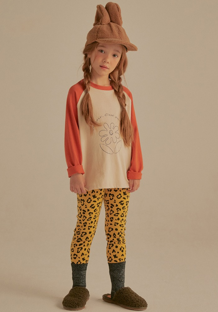 LEOPARD LEGGINGS_Kids
