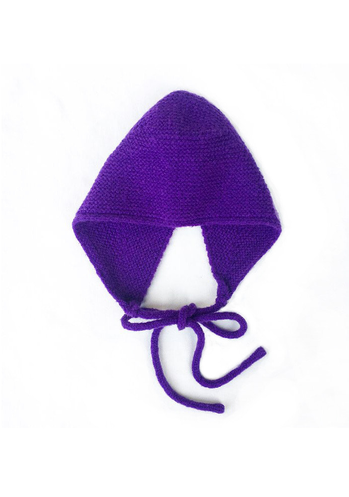 KNITTED HAT_Purple