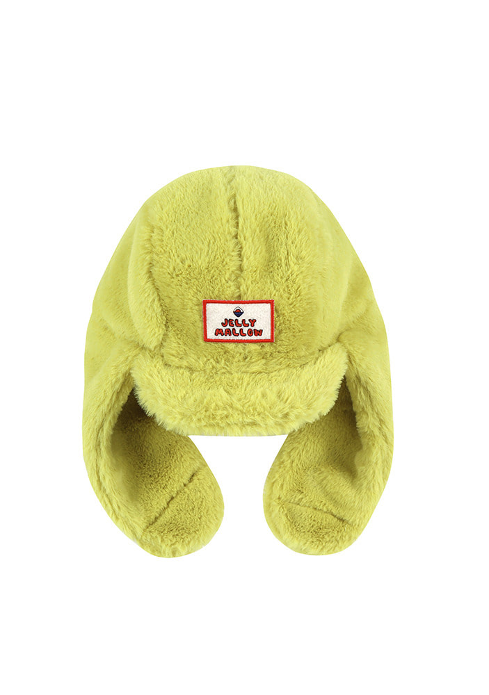 SHEARLING HAT_Lime