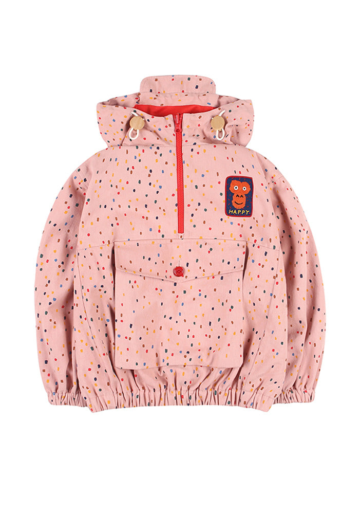 COTTON CANDY ANORAK HOODIE