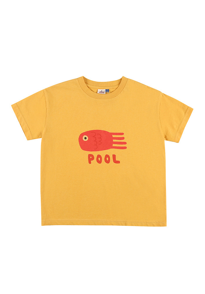 POOL SHORT SLEEVE T-SHIRT_Kids