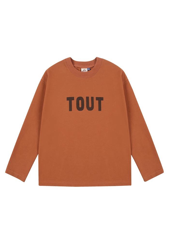 TOUT LONG SLEEVE T-SHIRT_Brown_Baby
