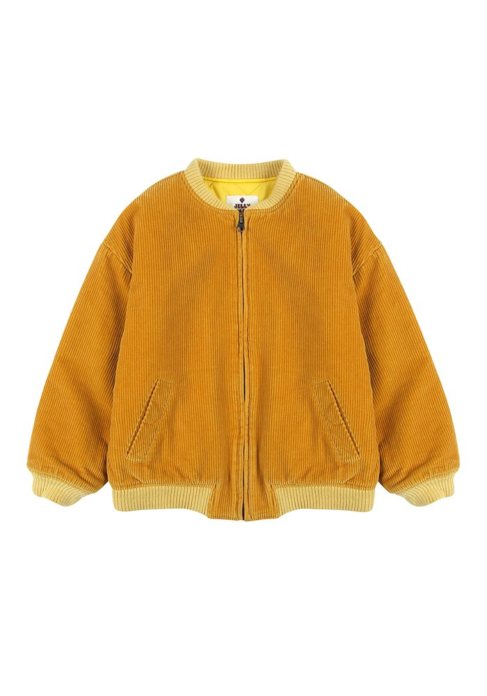 JM CORDUROY JACKET_Yellow_Kids