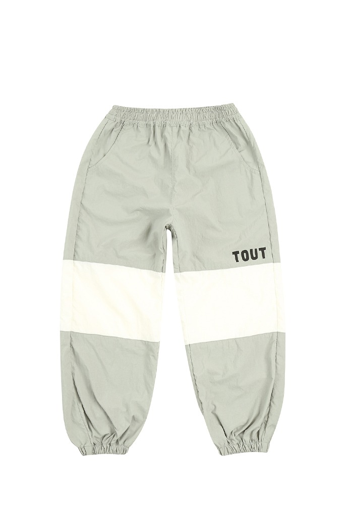 TOUT NYLON PANTS_Grey